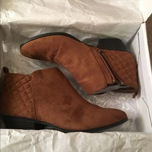 Style & Co Shoes - Style and co ankle boots suede